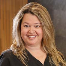 Dental assistant Lisa Miano